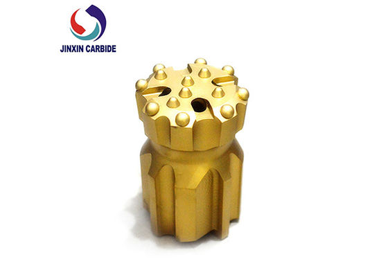 China Yellow Top Hammer Drill Bits Coal Mine / Hard Rock / Water Well Drilling Usage supplier
