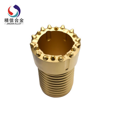 China Thread Overburden Drilling Systems With Tungsten Carbide Button For Water Well supplier