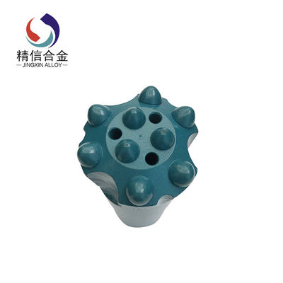 China D45mm 7° Tungsten Carbide Tapered DTH Drill Button Bit for Oil and Well field supplier